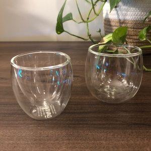 David's Tea Heat-Retentive Double Wall Glass Cups